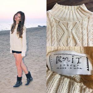 Vintage Fisherman's Knit Sweater